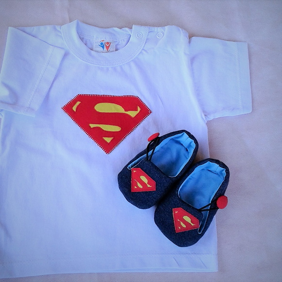 Conjunto Super Man