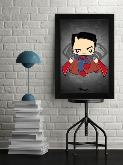 Quadro Super Men by Toonicos