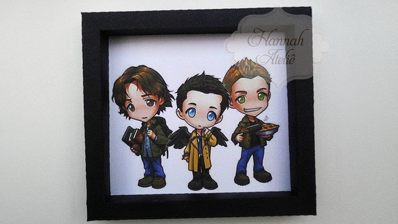 QUADROS SUPERNATURAL