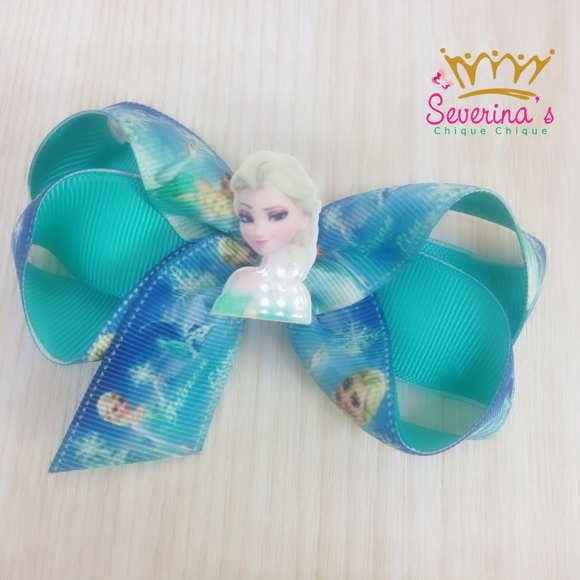 Laço Boutique Frozen - Princesa Elsa