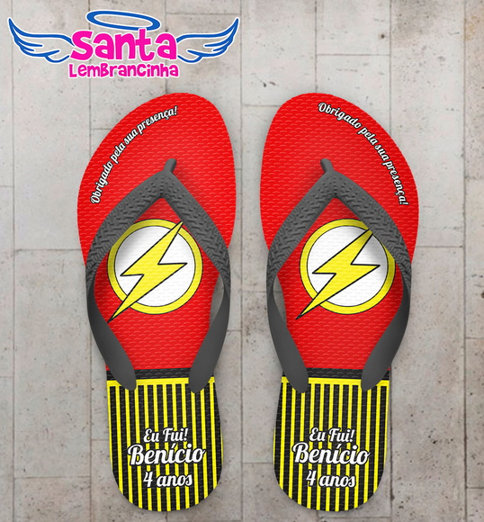 Chinelo Personalizado Flash