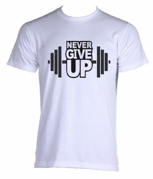 Camiseta Allsgeek Never Give Up - 04