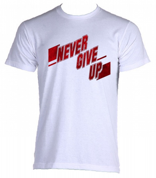 Camiseta Allsgeek Never Give Up - 06