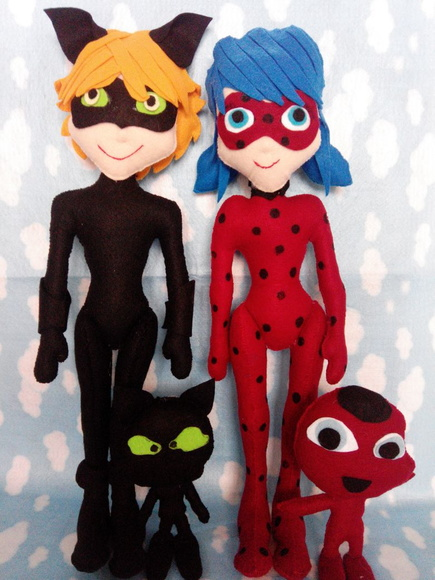 Miraculous - Lady Bug e Cat Noir
