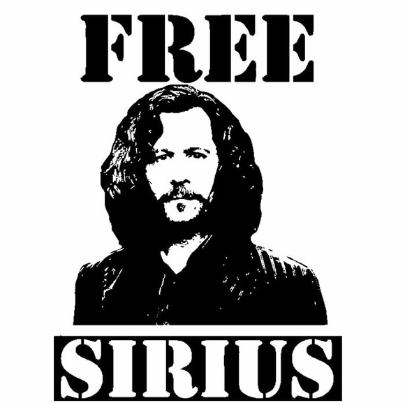 Camiseta Harry Potter Sirius Black
