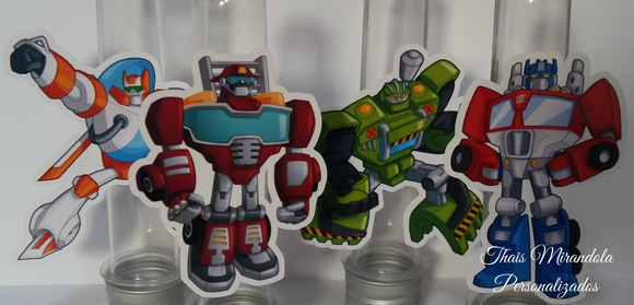 Aplique Transformers Rescue Bots