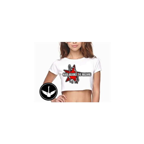 Blusa Cropped Rage Against The Machine