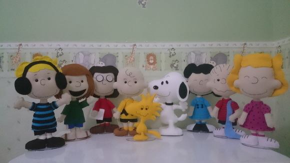 Kit turma do Snoopy