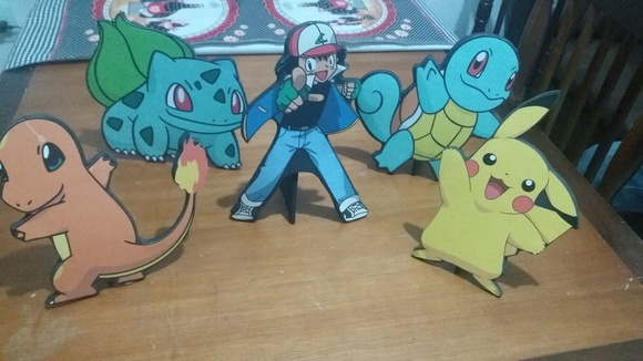 Displays em EVA Pokemon
