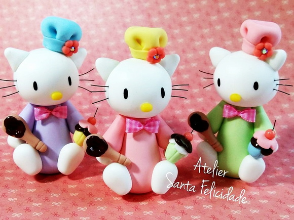 Aplique Hello Kitty Confeiteira Biscuit