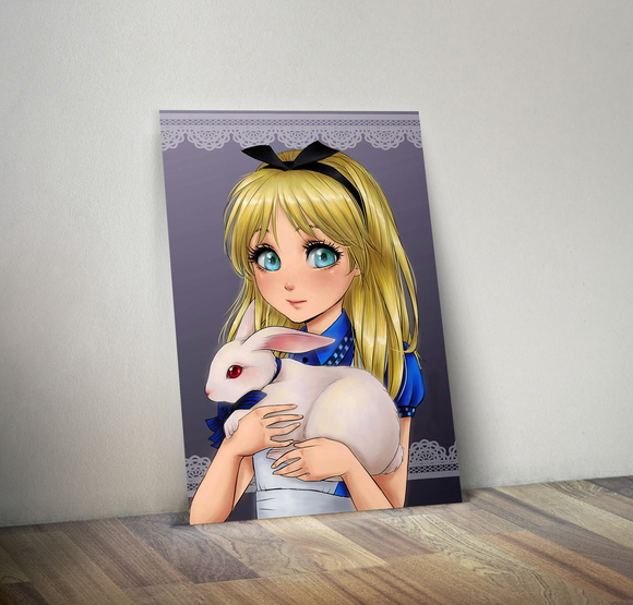 Quadro Decorativo - Alice