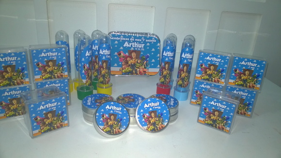 KIT TOY STORY 120 ITENS!!