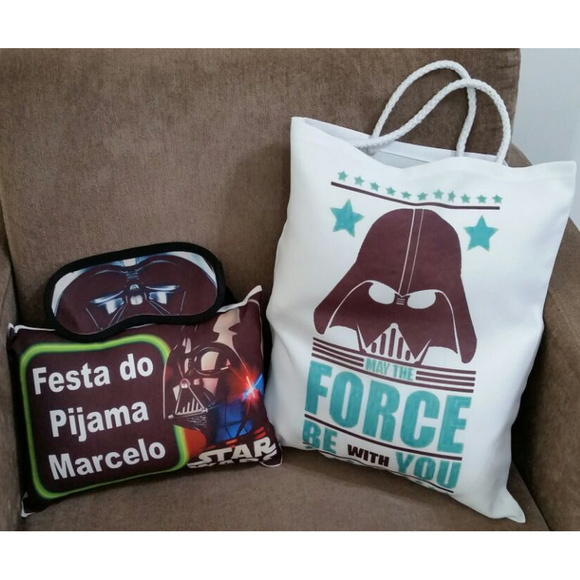 Kit Festa do Pijama Star Wars