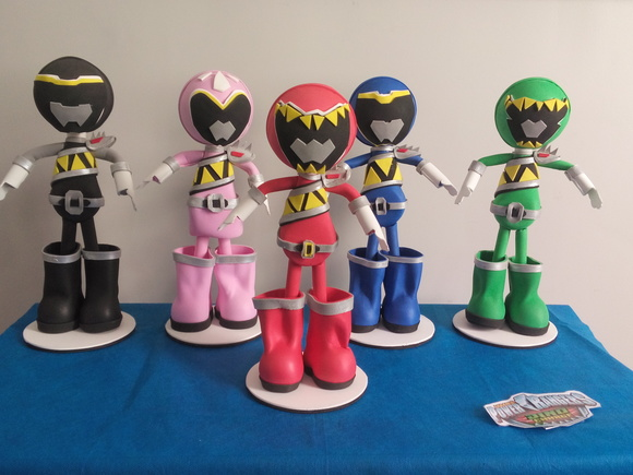 Fofucho Power Rangers