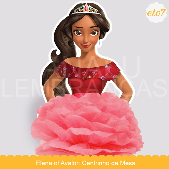 Centro de Mesa: Elena of Avalor