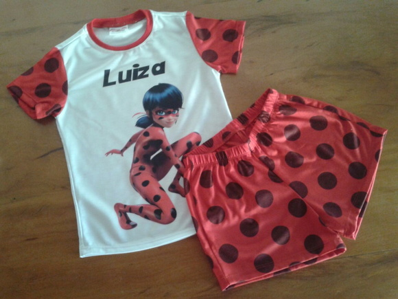 Pijama lady bug Miraculous