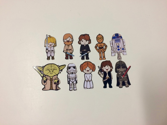 Aplique Star Wars - 3 cm