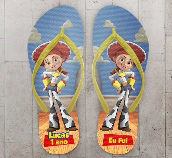 Chinelo Toy Story Infantil Personalizado