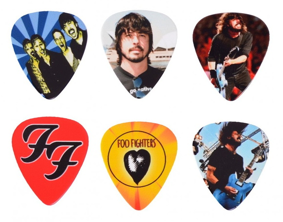 Palhetas Personalizadas Foo Fighters 1mm