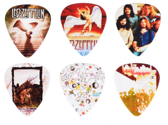 Palhetas Personalizadas Led Zeppelin 1mm