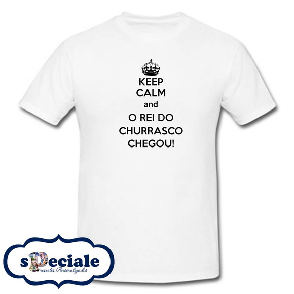 "CAMISETA ""REI DO CHURRASCO"""