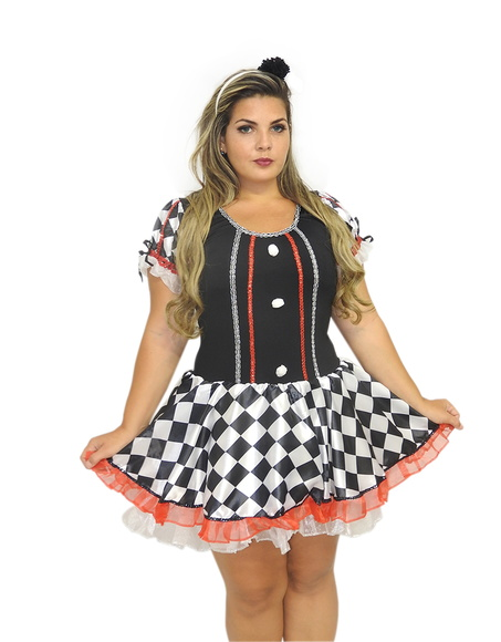 Fantasia Colombina Plus Size