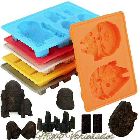 Kit Molde Forma De Silicone Star Wars