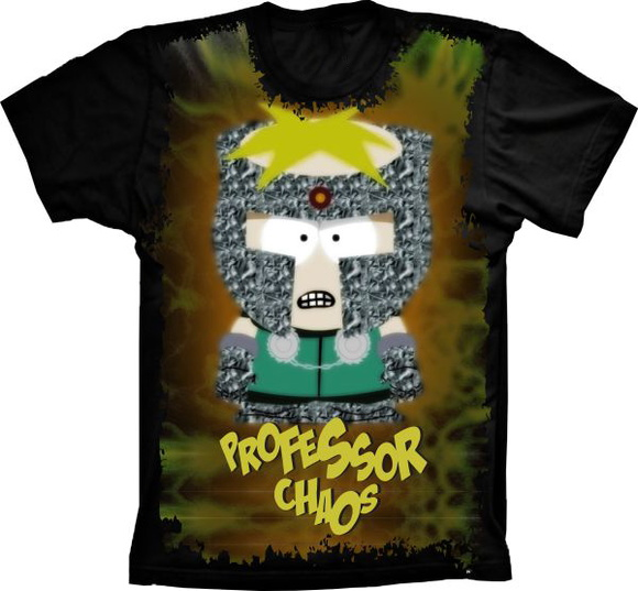 Camiseta South Park Professor Chaos