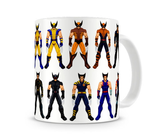 Caneca X Men Wolverine Versions