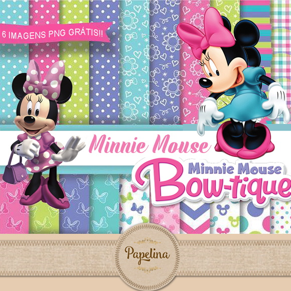 Kit Digital MINNIE BOUTIQUE 148