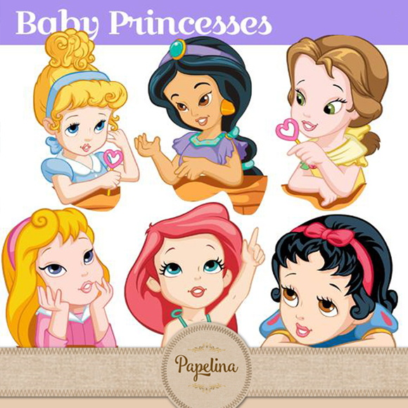 Kit Digital PRINCESINHAS BABY 172
