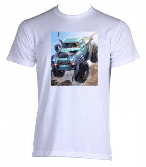 Camiseta Allsgeek Monster Trucks 01