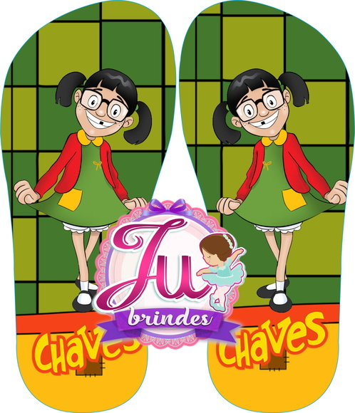 Chinelos Chaves