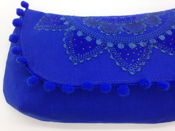 Clutch com Mandala Bordada LH3
