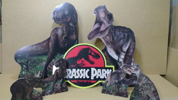 KIT DISPLAY DINOSSAUROS/JURASSIC