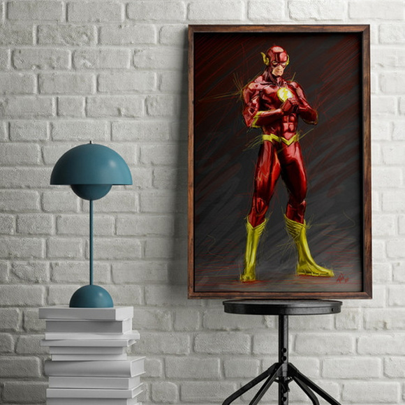 Poster - Personagem The Flash