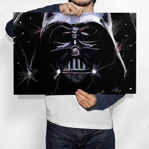Poster - Personagem Darth vader