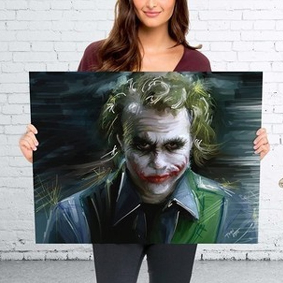 Poster - Personagem Joker Coringa