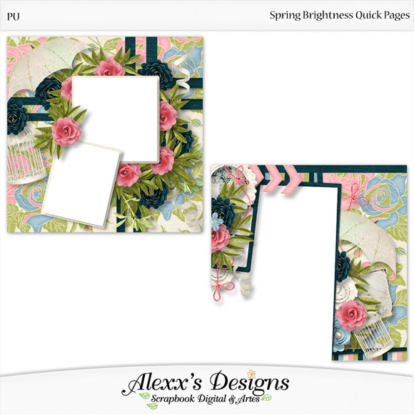 Kit Digital Spring Brigthness Quick Page