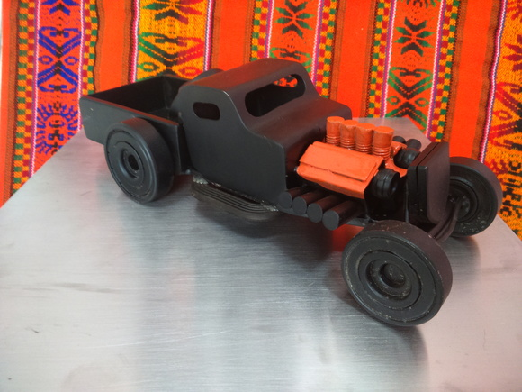 Miniatura Hot Rod Artesanal