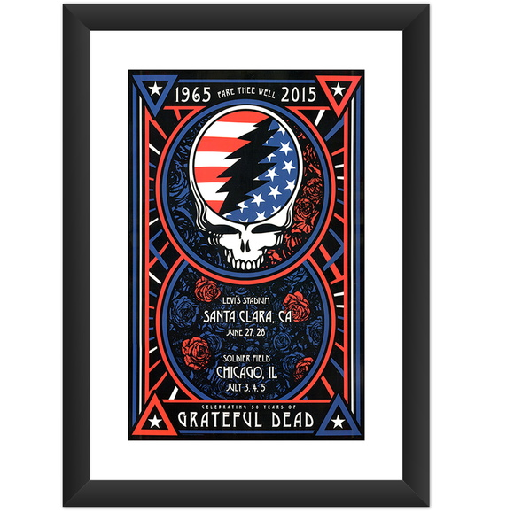 Quadro Grateful Dead Banda Rock Musica