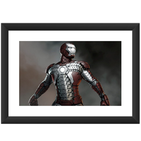 Quadro Filme Iron Man Hq Cinema Marvel