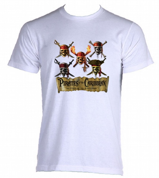 Camiseta Piratas do Caribe 04