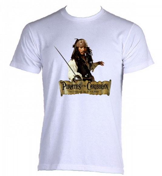 Camiseta Piratas do Caribe 06