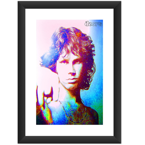 Quadro Jim Morrison The Doors Banda Rock
