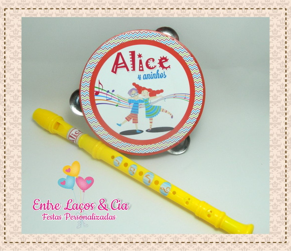 Kit Musical II Personalizado