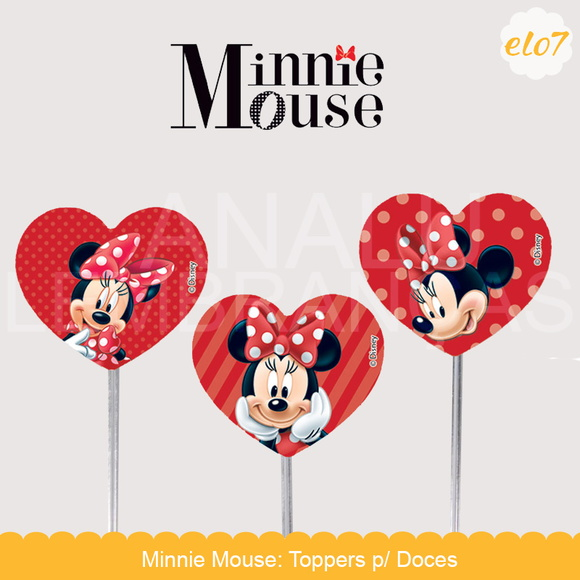 Toppers: Minnie Mouse