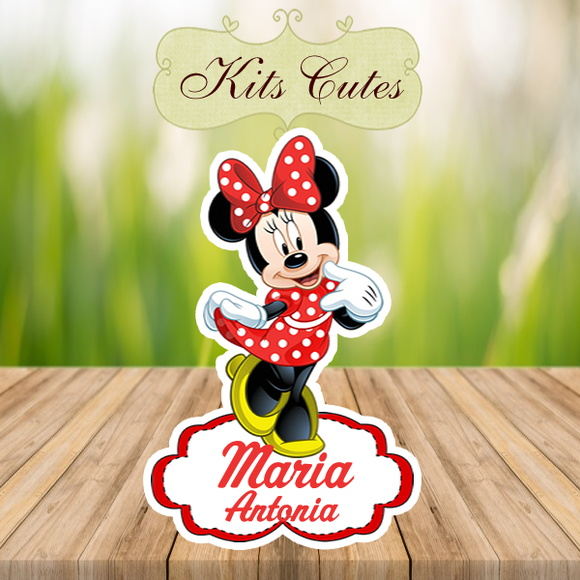 Arte Digital Aplique Minnie