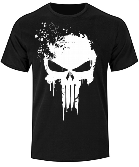 Camiseta Justiceiro Punisher