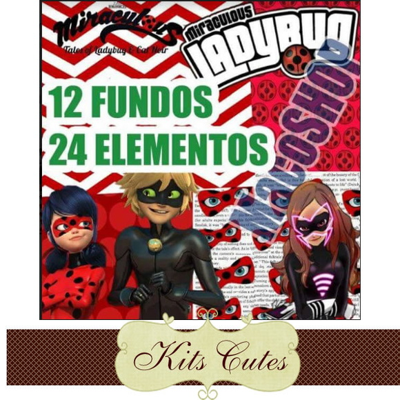 Kit Digital Miraculous 01